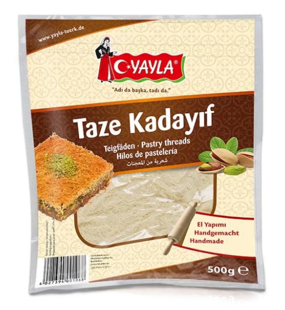 Yayla Taze Kadayıf 500G