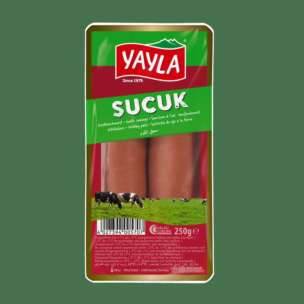 Yayla Knoblauchwurst/Sucuk 250g