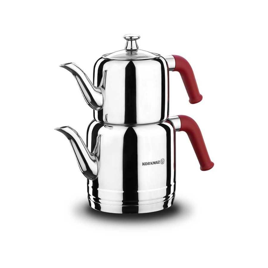 Korkmaz Mia Ino Siyah Çay Kahve Makinesi