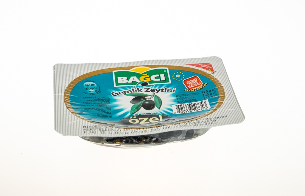 Bağcı Siyah Özel Gemlik Zeytin 210 G