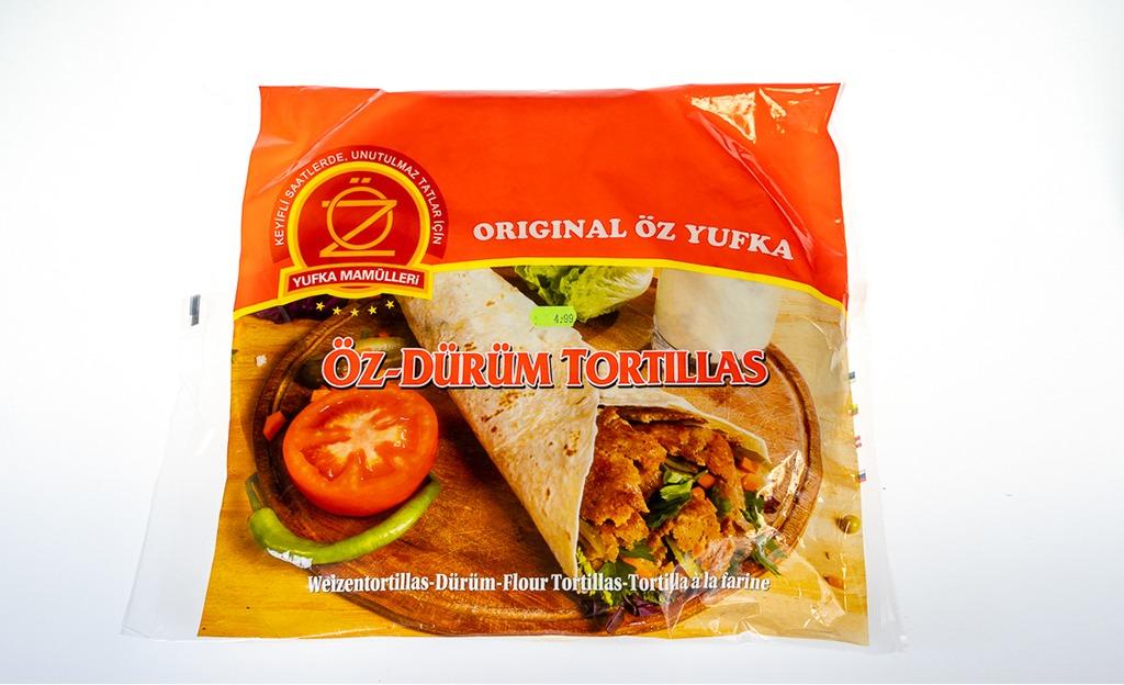 Öz Dürüm Tortillas Orjinal Lavaş 16 lı