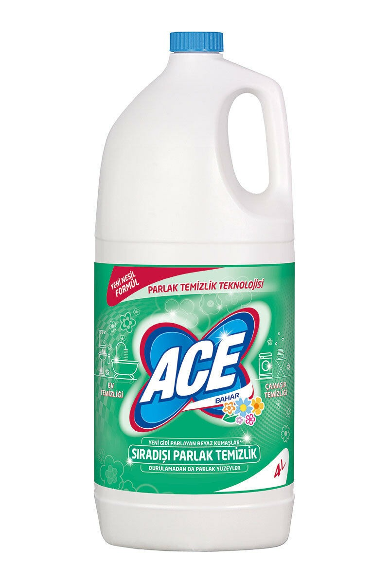 Ace Taze Bahar Çamaşır Suyu 4 Lt