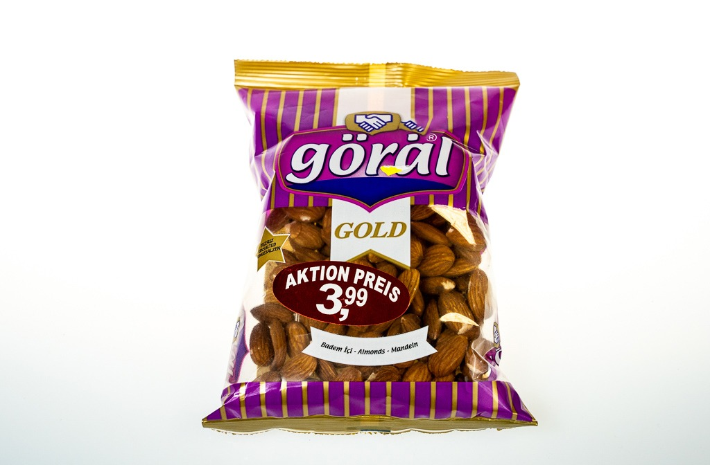 Göral Gold Kuru Badem İçi