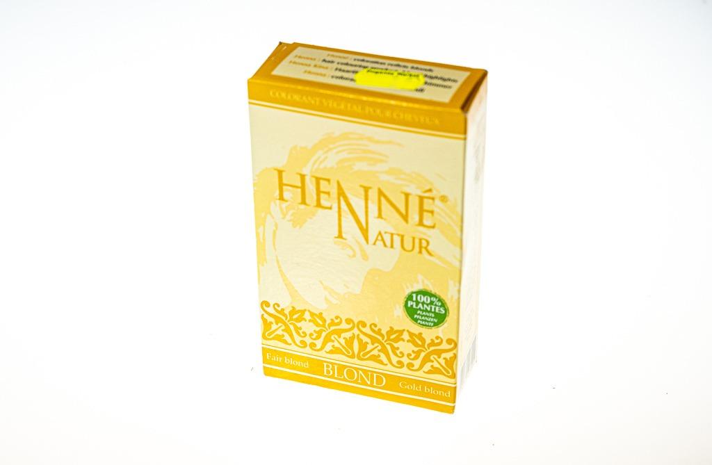 Henne Natur Gold Blond Kına