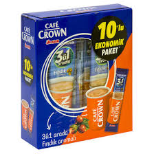 Cafe Crown 3 ü 1 Arada 10 lu Ekonomik Paket