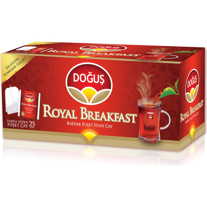 Doğuş Royal Kahvaltı 25 li Poşet Siyah Çay