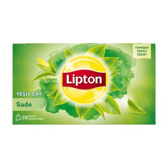 Lipton Sade Yeşil Çay 20 li