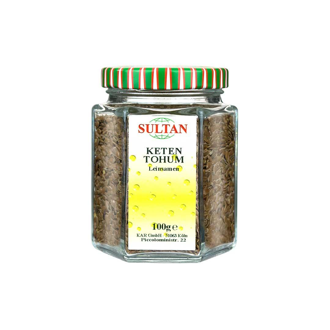Sultan Keten Tohumu 100 G