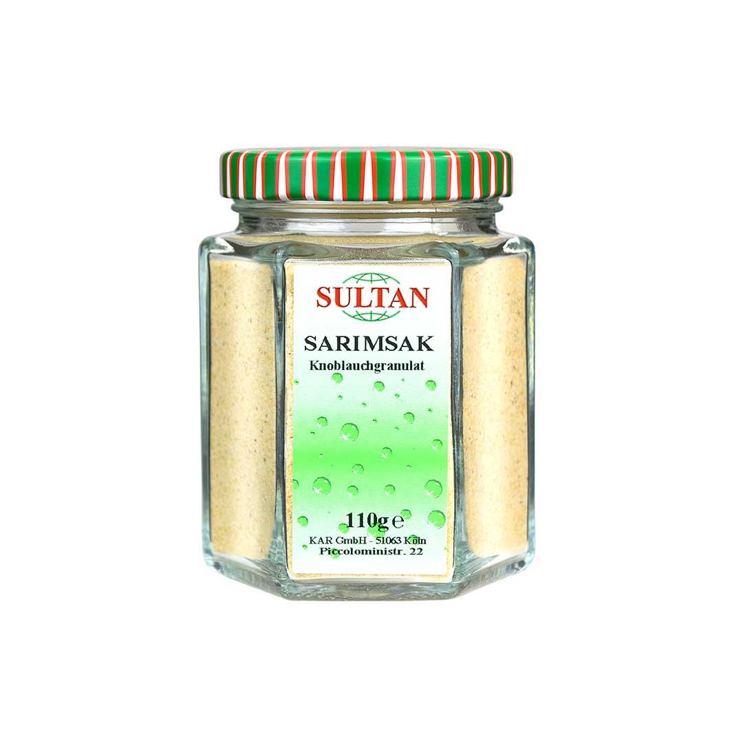 Sultan Sarımsak Baharatı 110 G